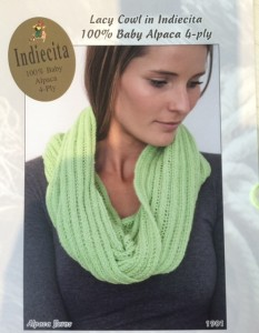 Green Scarf Pattern