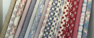 Tilda fabric to make patchwork quilts and clothes