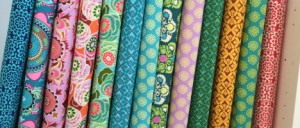 Amy Butler fabric to make patchwork quilts and clothes