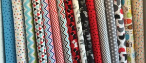 Robert Kaufman fabric to make patchwork quilts and clothes