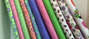 Quilting Treasures fabric to make patchwork quilts and clothes