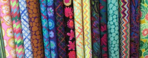 Kaffe Fassett & Brandon Mably fabric to make patchwork and clothes